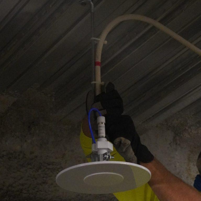 DAS lighting installation