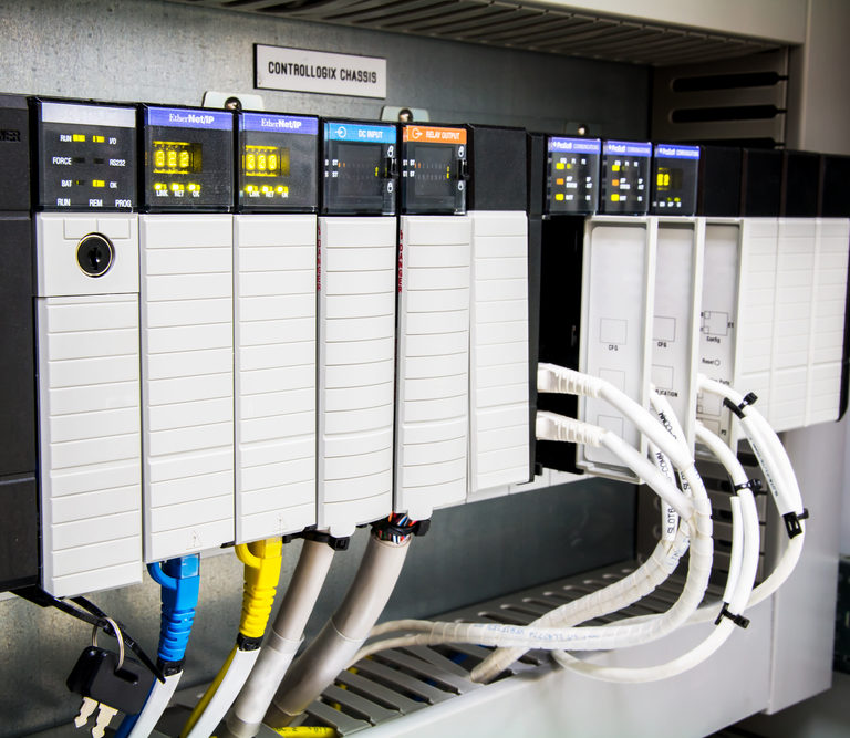 electric solutions in control panel