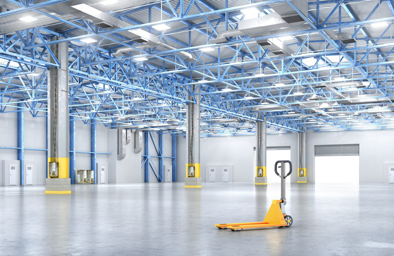 electric solutions in a warehouse