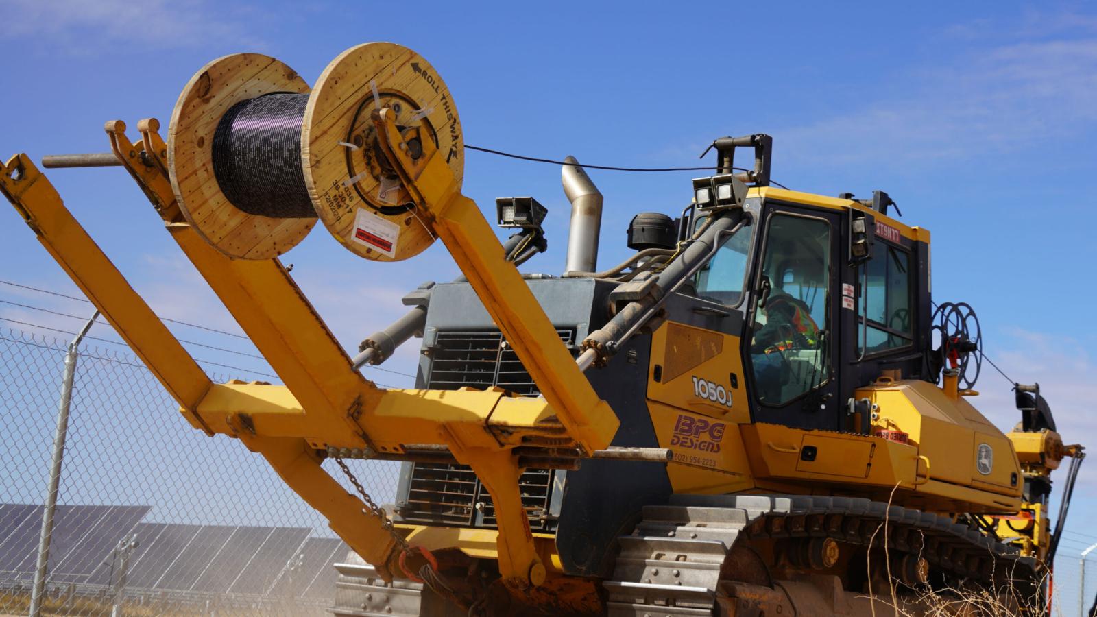 Fiber Optics and Conduit Plowing Services