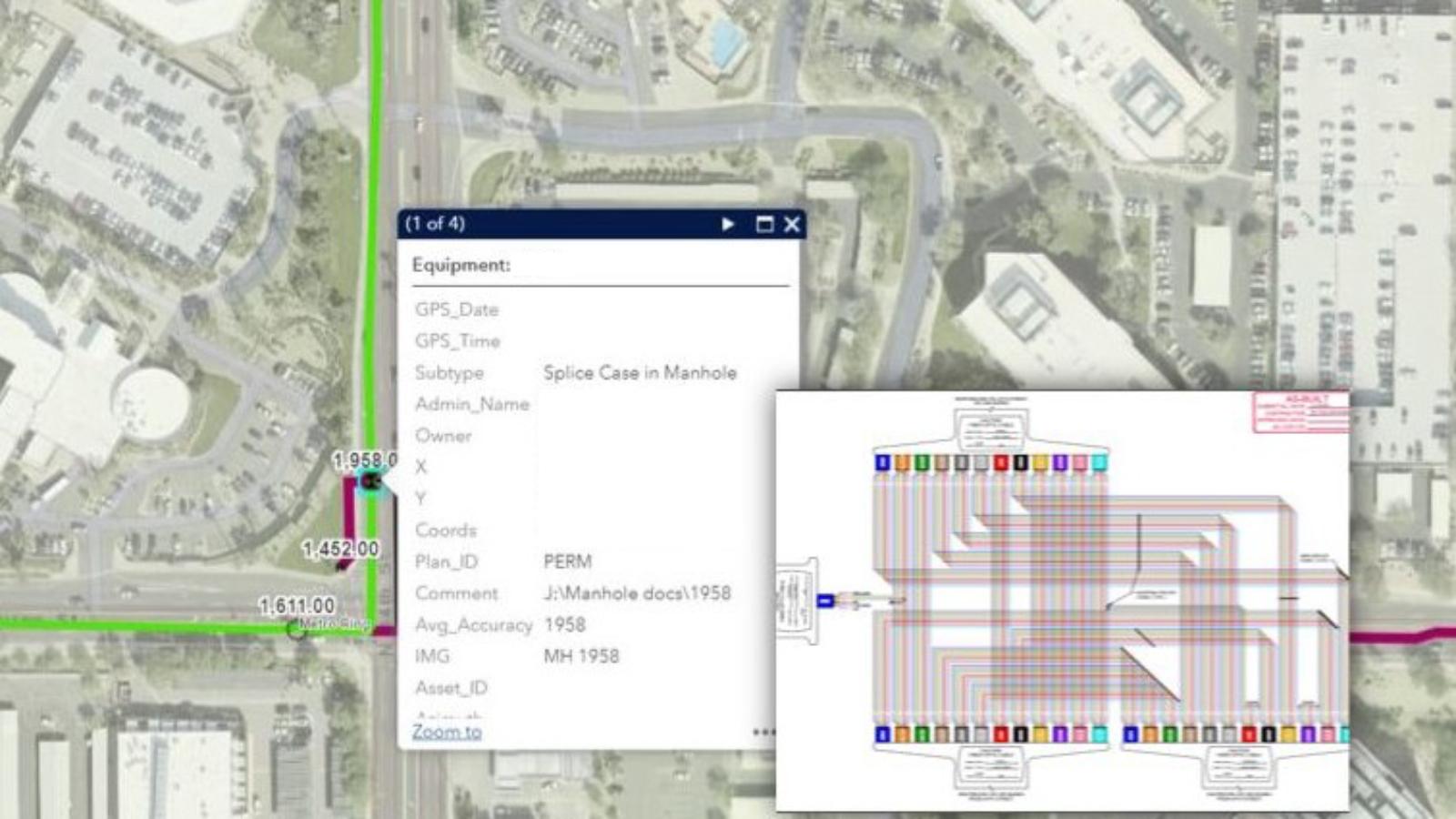Fiber optics network management